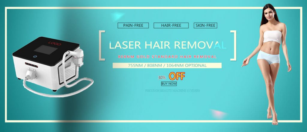 portable diode laser hair removal machine promotion